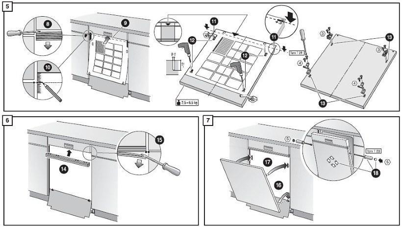 Схема посудомоечной бош